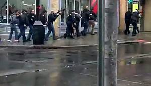 ABD'de silahlı çatışma paniği! 1 polis yaralandı