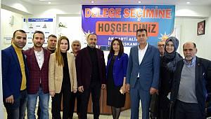 AK Parti Aliağa'da delege seçimi