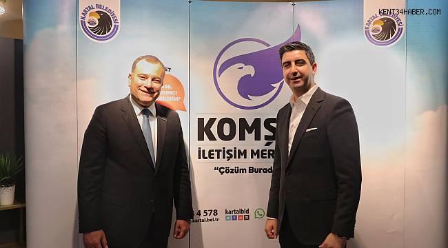 Alper Taşdelen'den Başkan Yüksel'e ziyaret