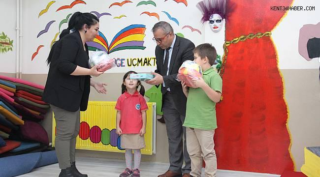 Atık Pil Toplama Yarışması'nda kazanan okullara ödülleri verildi