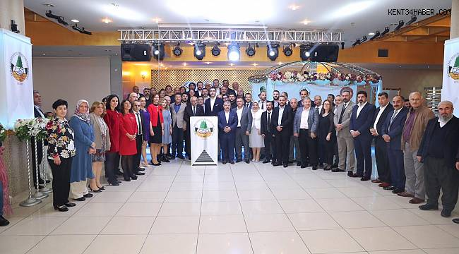 Başkan Yüksel, Erzincan Refahiye Dernekler Federasyonu'nun gecesine katıldı