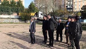 Başkan Yüksel, proje alanlarını yerinde inceledi