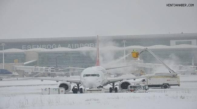 DHMİ kış hazırlıklarını tamamladı