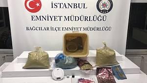 İstanbul'da 31 kilogram esrar ele geçirildi