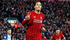 Lider Liverpool, City ile arasındaki puan farkını 11'e çıkardı
