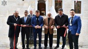 'Sabr-ı Gönül' hat sergisi Bahçelievler'de açıldı