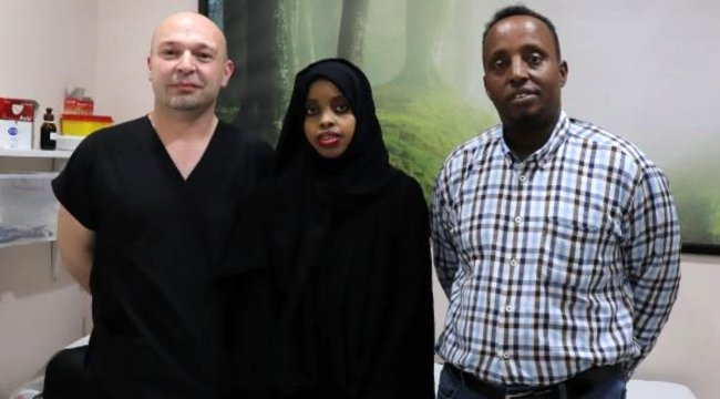 Somalili kadın, böbrek nakli ile sağlığına kavuştu