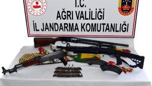 Ağrı'da PKKKCK'nın silah taciri yakalandı
