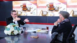 'Başkan ile Çay Molası'nın ilk konuğu Ceyhun Yılmaz oldu
