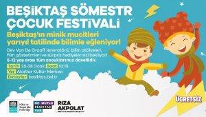 Beşiktaş'ta ücretsiz 'Sömestr Çocuk Festivali' başlıyor