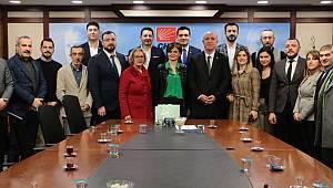 CHP Kartal'dan Canan Kaftancıoğlu'na ziyaret