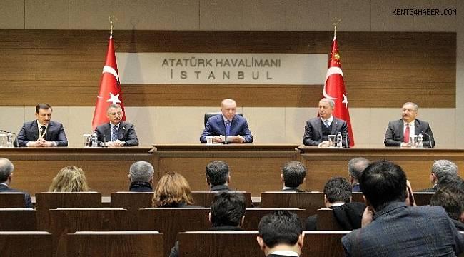 """Cumhurbaşkanı Erdoğan: """"Miçotakis oyunu yanlış oynuyor"""""""