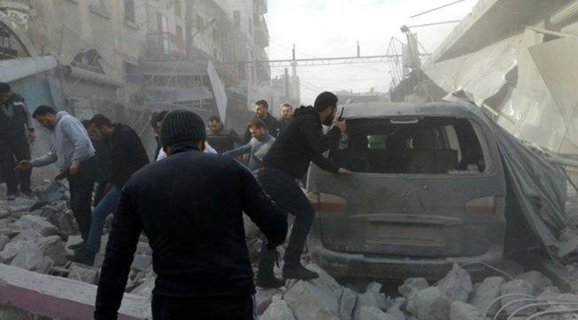 Esed rejimi ve Rusya, ateşkese rağmen İdlib'de hava saldırılarına başladı: 15 ölü