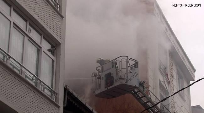 Esenyurt'ta korkutan yangın: 2 çocuk kurtarıldı