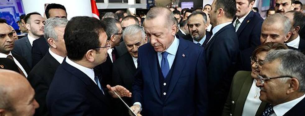 İmamoğlu'dan Erdoğan'a mektup