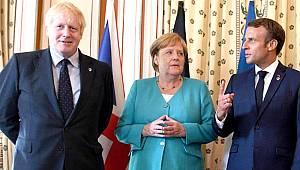 İngiltere, Almanya ve Fransa liderlerinden ortak İran açıklaması: Daha fazla şiddet istemiyoruz
