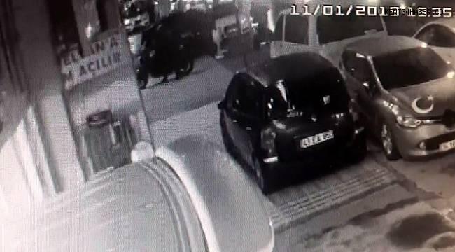 """İstanbul'da """"pes"""" dedirten motosiklet hırsızlığı"""
