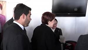 İYİ Parti Genel Başkanı Akşener: 'Seçime Tayyip Bey karar verecek'