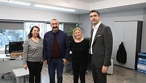 Kominist Başkan Maçoğlu, Başkan Yüksel'i ziyaret etti