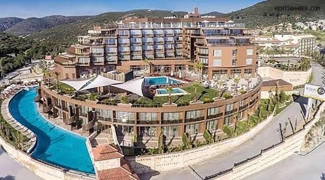 Kuşadası'nda 5 yıldızlı otel icralık oldu