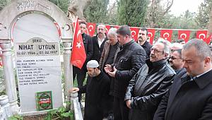 MHP Kartal Şehit Başkanını Anacak