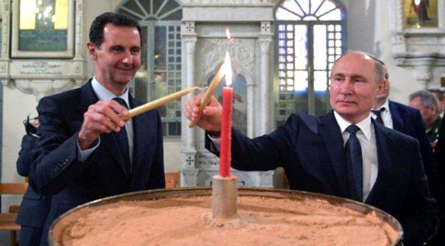 Rusya lideri Putin'den, Esed'e çağrı: Trump'ı Şam'a davet et