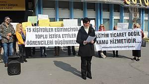 Ahmet Şimşek Koleji Velileri çözüm istiyor!