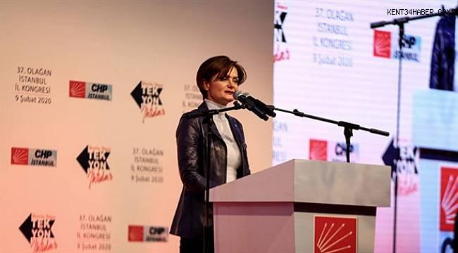 Canan Kaftancıoğlu: Herkesin sözcüsü olacağız