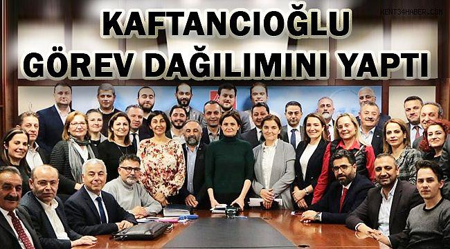 CHP İstanbul'da Görev Dağılımı