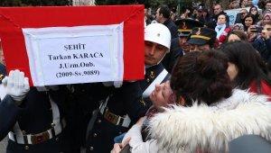Çığ şehidi Tarkan Karaca, Eskişehir'de toprağa verildi