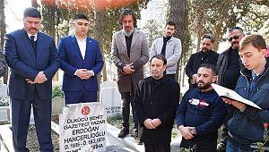 Erdoğan Hançerlioğlu mezarı başında anıldı