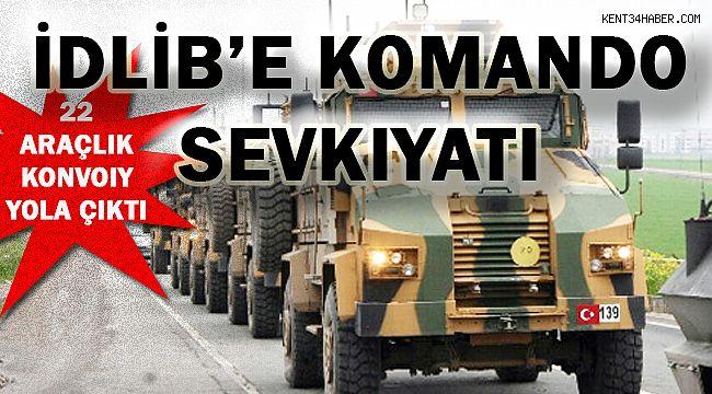 Kilis'ten İdlib'e Komando Sevkiyatı!