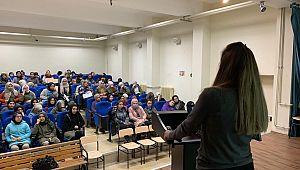 """Okullarda """"Spor ve Sağlıklı Beslenme"""" seminerleri başladı"""
