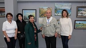 Orhan Meriçadalı kişisel resim sergisi açıldı