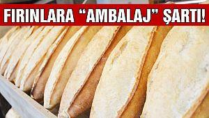 Ekmekler Ambalajlı Satılacak