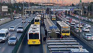 İstanbul'da toplu ulaşımda düşüş