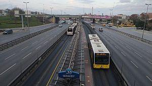 İstanbul trafiğine 'corona' etkisi!