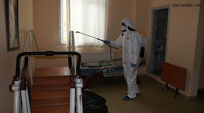 Kartal'da Korona Virüsü Dezenfekte Çalışması Devam Ediyor