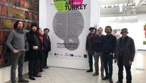 Türk sanatçıların yapıtları Kiev'de büyük ilgi gördü