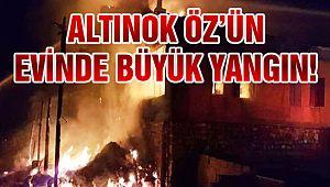 Başkan Öz'ün Evinde Yangın!