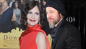 Elizabeth McGovern: Brad Pitt'e öpüşmeyi ben öğrettim