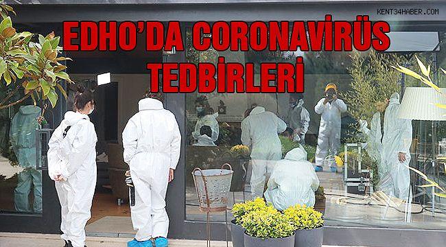 Eşkiya Dünyaya Hükümdar Olmaz'a Coronavirüs Tedbirleri