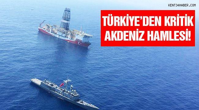 Türkiye'den Kritik 'Akdeniz' Hamlesi!