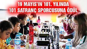 19 Mayıs'ın 101. Yılında, 101 Satranç Sporcusuna Ödül