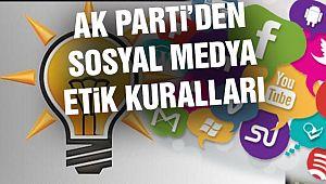 """AK Parti'den Sosyal Medya İçin """"Etik Kurallar"""""""