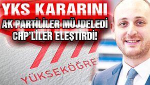 AK Partililer Müjdeledi, CHP'liler Eleştirdi!
