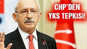 CHP'den YKS Eleştirisi!