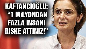 CHP İstanbul'dan AVM Tepkisi!