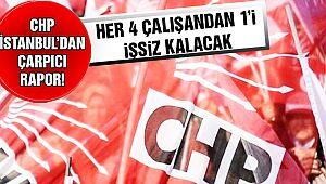CHP İstanbul'dan Çarpıcı Rapor!