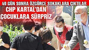 CHP Kartal'dan Çocuklara Sürpriz!